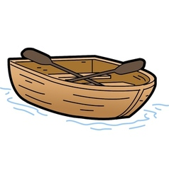 Rowboat vector