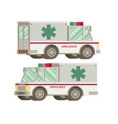 Ambulance flat vector