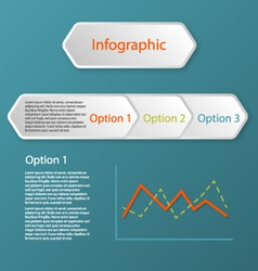Three steps infographic concept vector