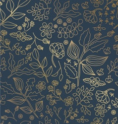 Gold foil shiny pattern vector