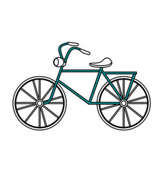 City bike or bicycle icon image vector