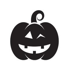 Cute halloween pumpkin vector