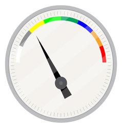 Spectrum indicator device vector image vector image