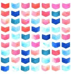 Watercolor geometric seamless pattern vector