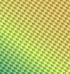 Retro green squared abstract background vector