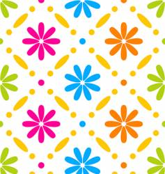 Floral stitches vector