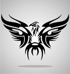 Eagle Bird Tribal vector image vector image