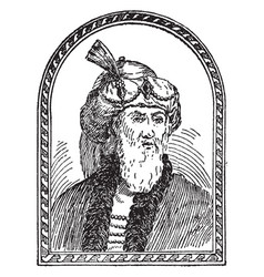 Flavius josephus vintage vector