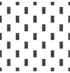 Front door pattern simple style vector