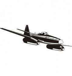 Messerschmitt Me262 vector image