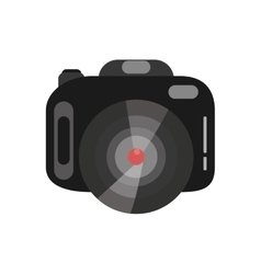 photographic camera device isolated icon vector image vector image