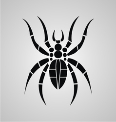 Tribal Spider vector image