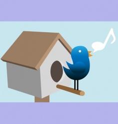 tweedy bird vector image vector image