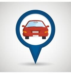 Car location design vector
