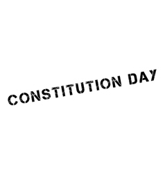 Constitution day rubber stamp vector