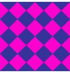 Cosmos purple blue pink chess board diamond vector