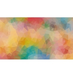 Multicolor composition with angular shapes vector
