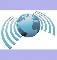 Internet symbols vector image