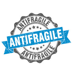 Antifragile stamp sign seal vector