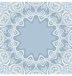 Lace background mandala vector