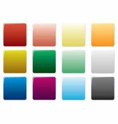 Free colored square buttons vector