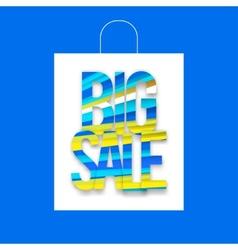Big sale package vector