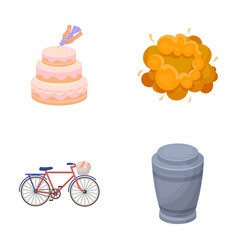 cooking transport and other web icon in cartoon vector image