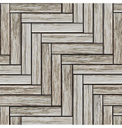 Grey wood parquet vector