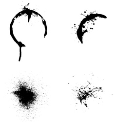 Splash of ink vector