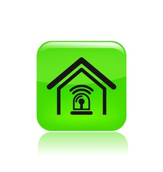 station alarm icon vector image
