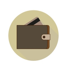 Icon Wallet vector image vector image