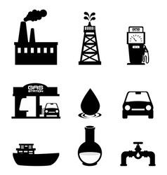 Petroleum design vector