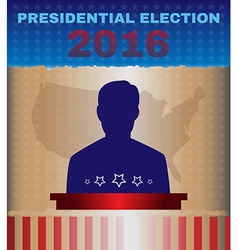 Usa 2016 presidential election debates vector