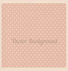 vintage dotted background vector image
