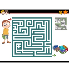 Maze activity vector