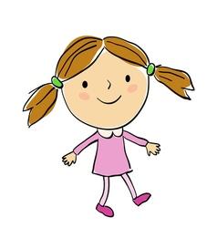 children 6 vector image vector image