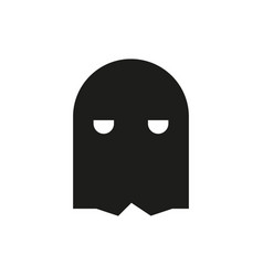 Mask icon on white background vector