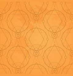 ornamental geometric seamless pattern for vector image