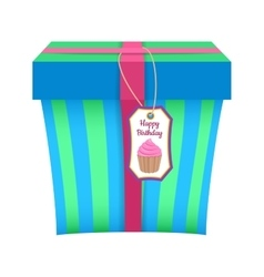 Present gift boxes vector image vector image