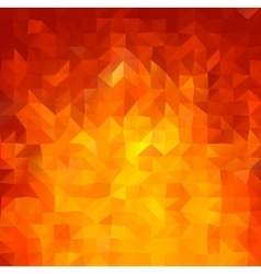 Shiny Red background with triangles shapes vector image vector image