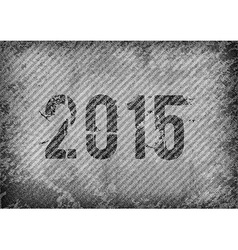 2015 Grunge Texture vector image