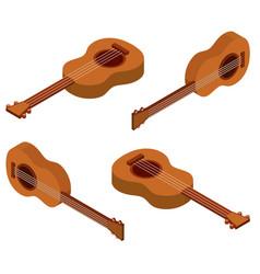 3d design for ukulele vector