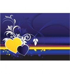 Love decorated vector