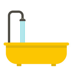Bathroom icon isolated vector