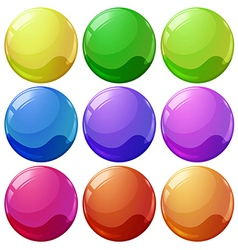 Colorful balls vector