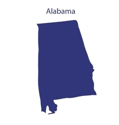 United states alabama vector