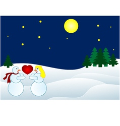 Christmas backround vector image