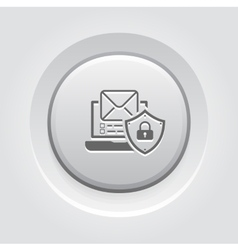 Personal data protection icon vector