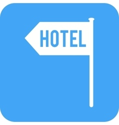 Hotel Sign vector image vector image