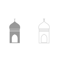 mosque it is icon vector image vector image